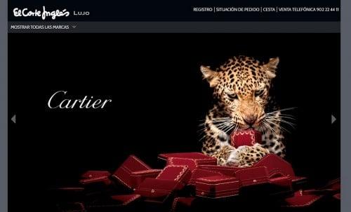 Comprar artículos de lujo en Internet