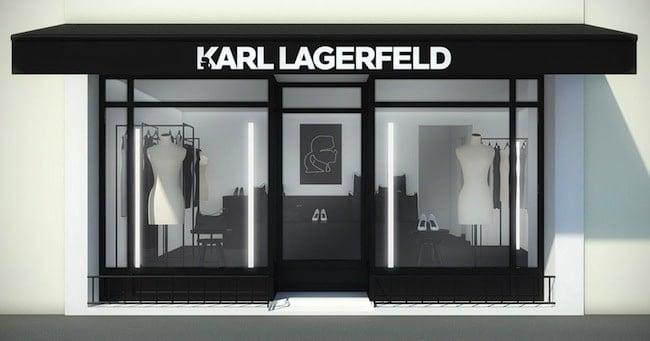 Karl Lagerfeld abre tienda en Saint Tropez