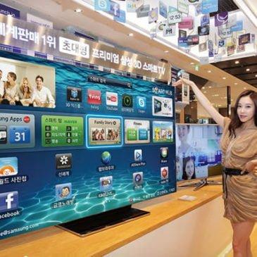 Samsung ES9000 75 pulgadas smart TV