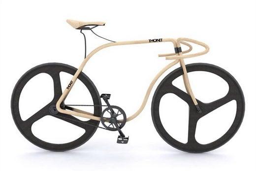 Bicicleta Thonet de Madera Moldeada