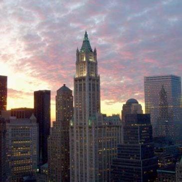 Apartamentos de lujo en el edificio Woolworth de Nueva York