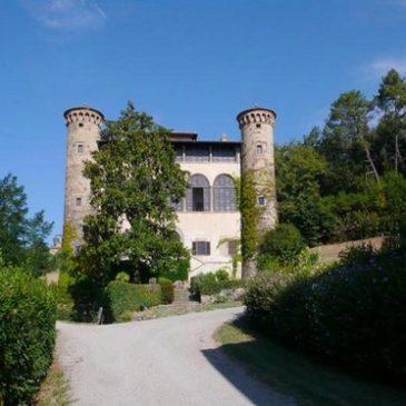 Castello di Galbino en la Toscana Italia