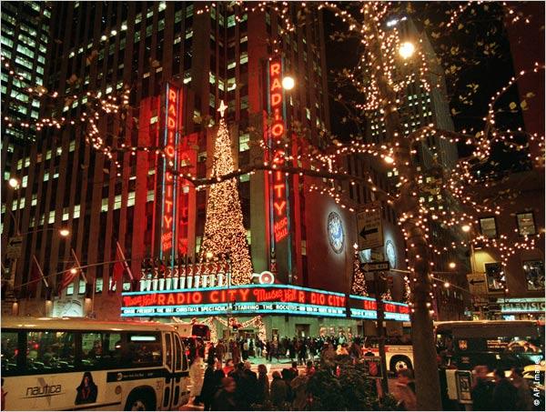 Navidad en las calles de Nueva York