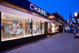 Chanel en Courchevel