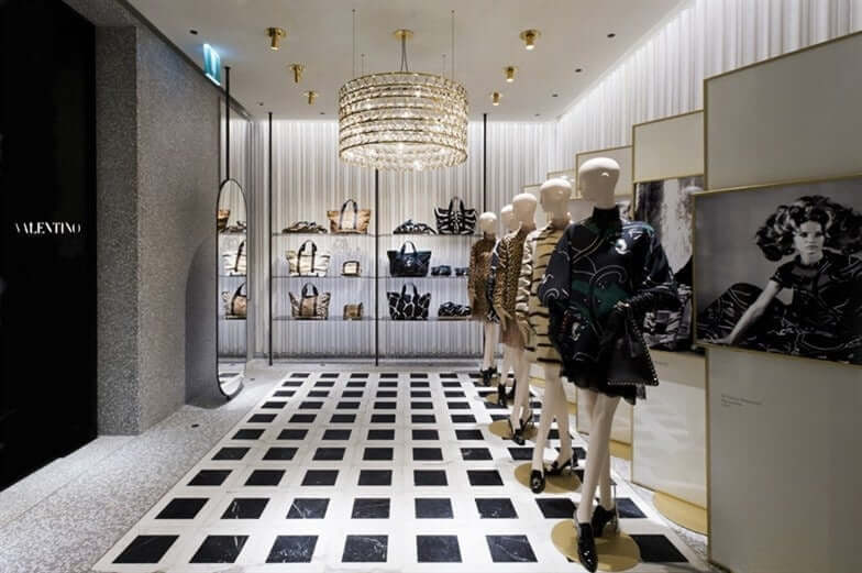 Valentino Tienda ropa en Paris