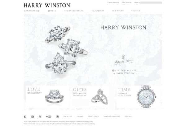 Joyeria Harry Winston