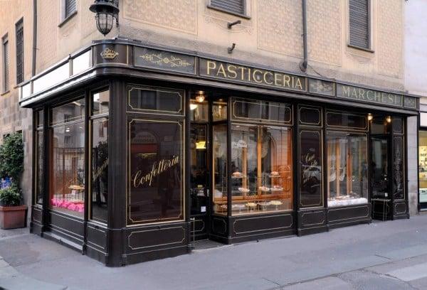 Pastelería Prada en Milán