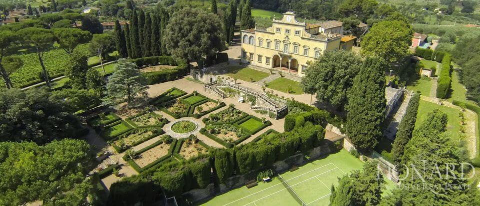 Villas de lujo en Italia