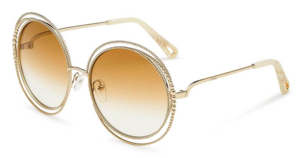 Gafas de lujo Carlina Chain de Chloé
