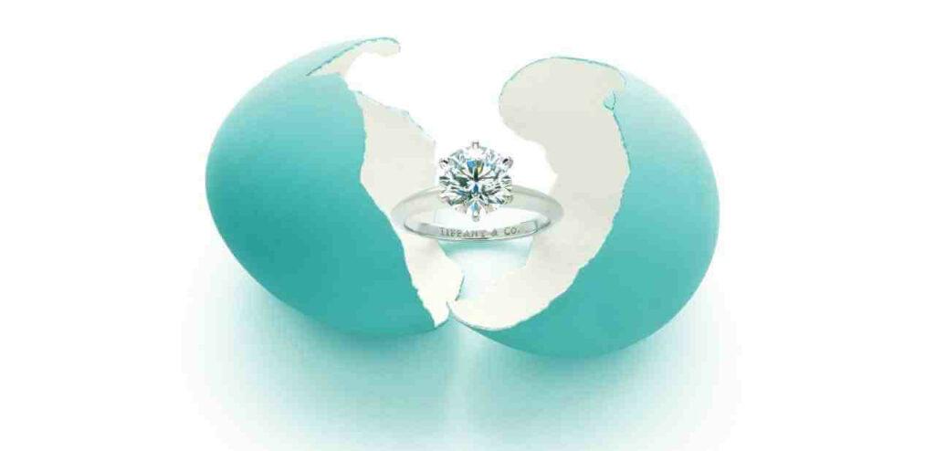 Anillos de compromiso Tiffany