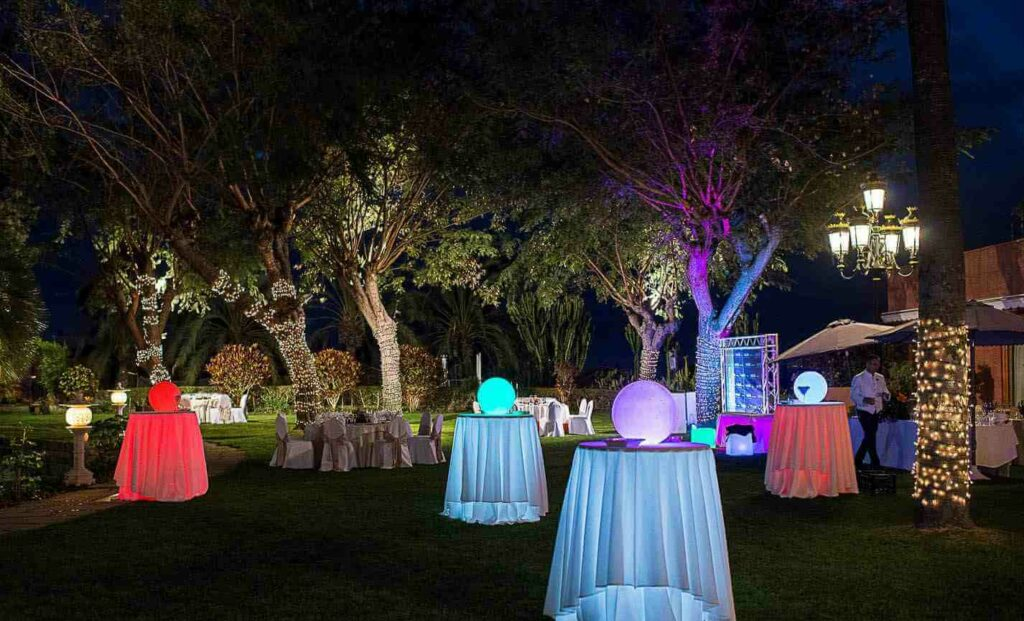 Celebrar una boda de lujo