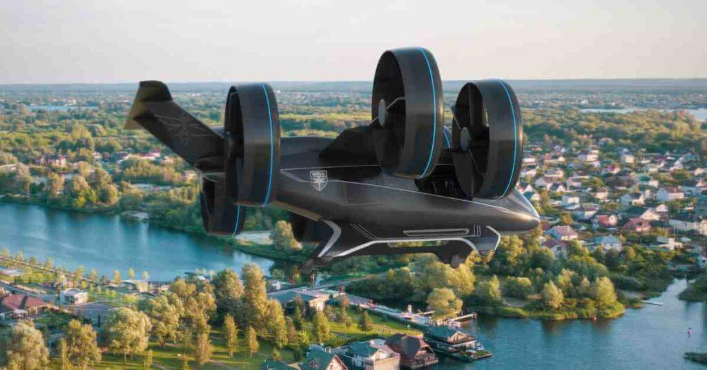 Bell Nexus el concepto de taxi aéreo