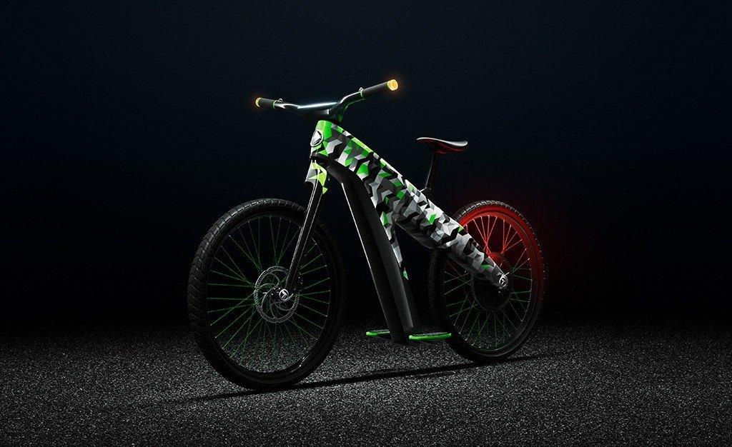 Bicicleta Eléctrica Skoda Klement Concept