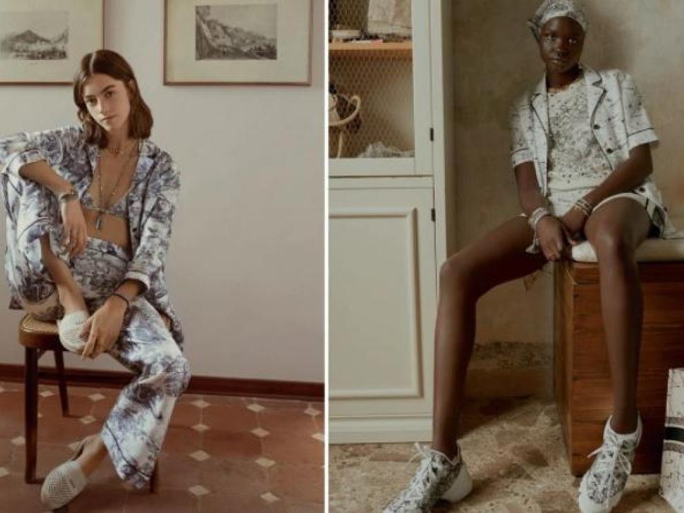 Dior lanza su colección de lujo con ropa para estar en casa