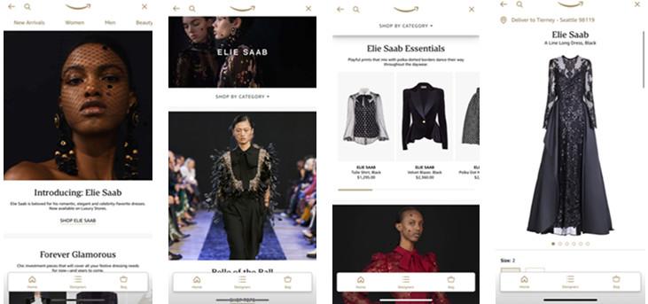 Luxury Stores de Amazon y Elie Saab se unen