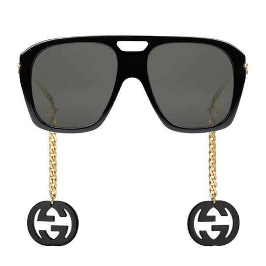 Gafas de Sol Gucci con colgantes