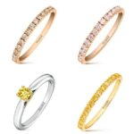 Anillos con diamantes Fancy de la Joyería Suarez