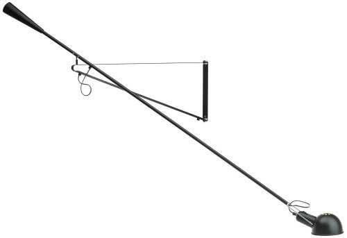 Flos 265acabado lámpara de pared negro b008jyeta6