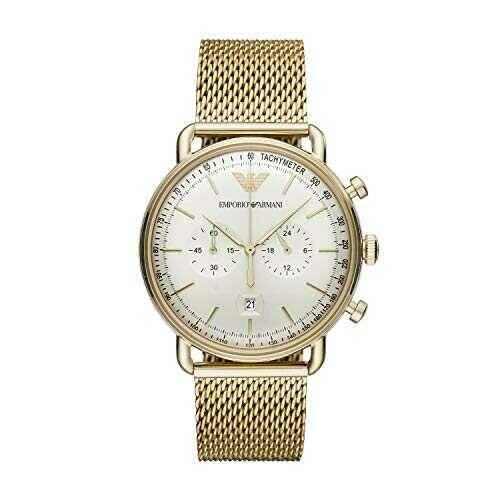 Emporio Armani Reloj Analógico para de los Hombres b08832c45z