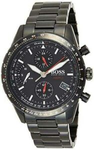 Hugo Boss Reloj Cronógrafo para Hombre de Cuarzo b07yvq25ky